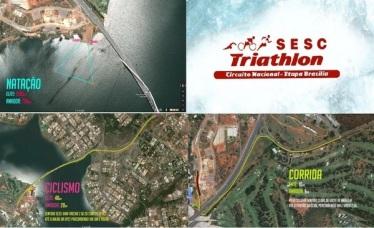 Percurso SESC Brasília